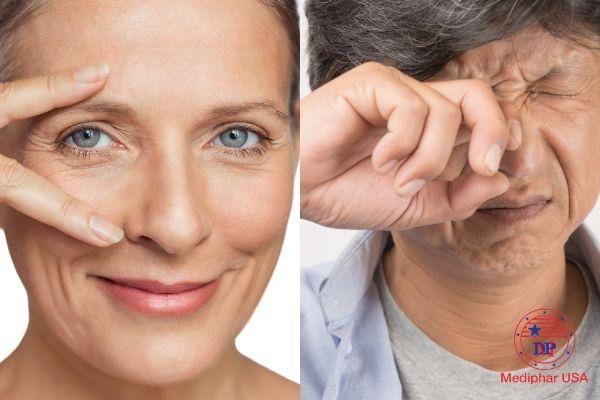 Bảo vệ mắt với acid ascorbic