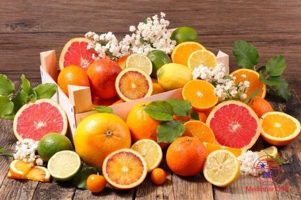 Cam quýt chanh bổ sung vitamin C