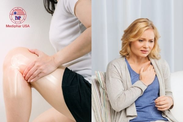 nguy cơ mắc bệnh tim mạch và xương khớp
