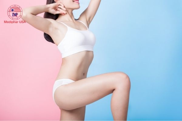 tạo đường cong cho thân hình phụ nữ