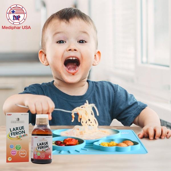 siro ăn ngon cho trẻ dưới 1 tuổi