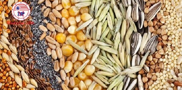 các loại hạt ngũ cốc mọc tóc