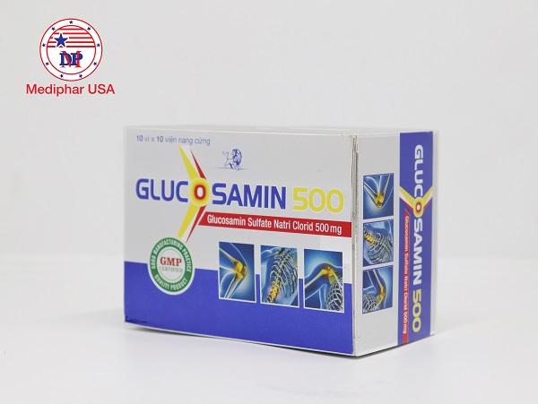 Viên uống bổ xương khớp Glucosamin 500
