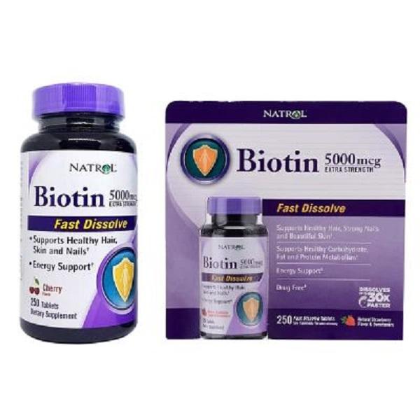 thuốc mọc tóc biotin 100