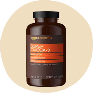 Amazon Elements Super Omega-3 hương chanh