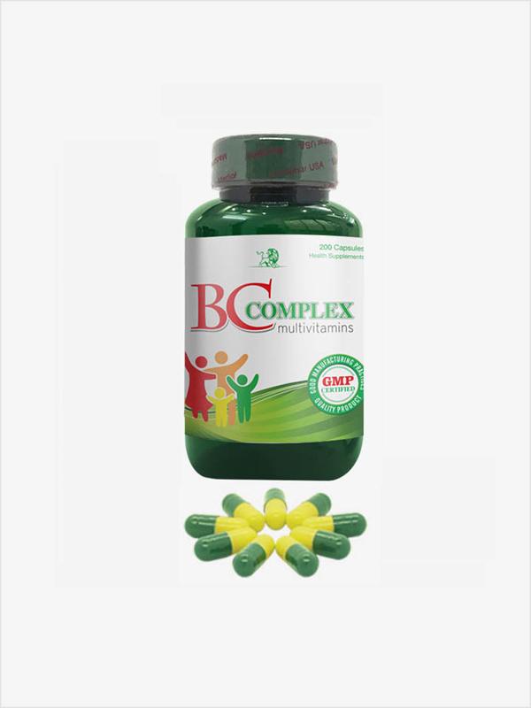 BC complex 200 bổ sung vitamin b5