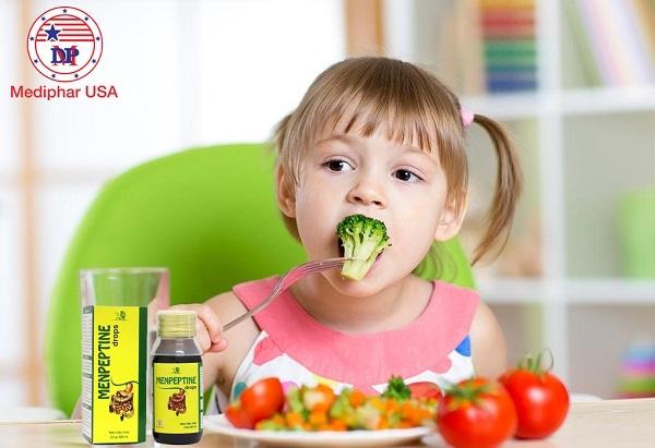 cách uống men tiêu hóa cho bé