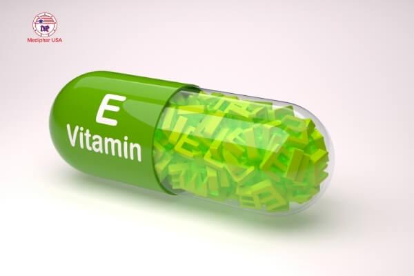 vitamin e có trị mụn không
