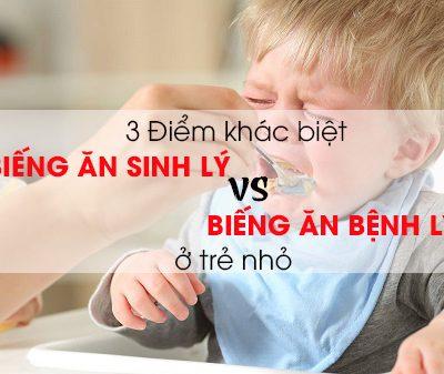 biếng ăn sinh lý ở trẻ sơ sinh