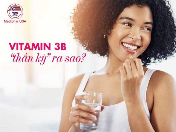 công dụng của vitamin 3b
