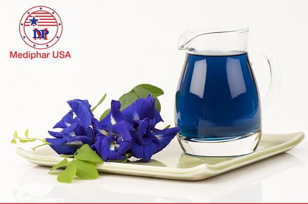uống trà hoa đậu biếc có tác dụng gì