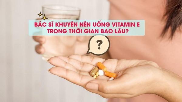 cách uống vitamin e